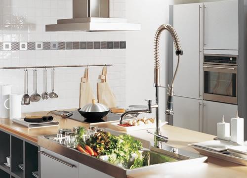 Wand- und Bodenfliesen in der Küche   Fliesen Baur, Rösrath
