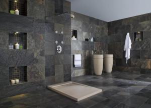 Großformatige Fliesen im Bad | Fliesen Baur, Rösrath